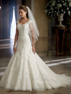 Cheap dress ball gown, Buy Quality gown evening dress directly from China dress bridal gown Suppliers: Vestidos Direct Selling Sale Natural De Noiva 2016 Custom Made White/ivory Appliques Beading Lace Wedding Dress Bridal Gowns Mon Cheri Wedding Dresses, Popular Wedding Dresses, V Neck Wedding Dress, 2016 Wedding Dresses, Formal Dresses For Weddings, Bridal Dresses, Wedding Gowns, Ivory Wedding, Trendy Wedding