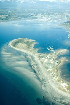 Goose spit, Comox Valley, HMCS Quadra site, by Tristan Nano. Vancouver City, Vancouver Island, Sunshine Coast, Best Places To Travel, Places To See, Wonderful Places, Beautiful Places, West Coast Living, Victoria
