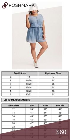 🆕 Torrid Ombré Romper shades of blue 4x Torrid Brand new Ombré Romper Shades of Blue with Pockets! Summer must have! Light & super soft! torrid Shorts