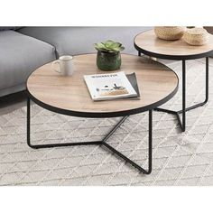Discover recipes, home ideas, style inspiration and other ideas to try. Casa Sexy, 2 Coffee Tables, Light Table, Living Room, Big, Wood, Interior, Furniture, Home Decor
