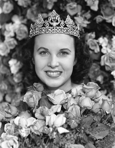 She Was Selected As A Member Of The Royal Court And Shortly After Crowned 22nd Rose Queen Tournament Roses