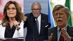 """""""Genuinely Terrifying Prospect"""": Greenwald on Palin, Giuliani & Bolton Serving in Trump's Cabine"""