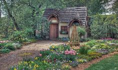 I want a little cottage like this....♥ Cottage