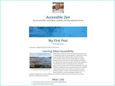 8 Best Accessibility Ready WordPress Themes