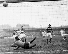 Sir Alex knocks in but one of the 66 goals he scored in his 89 games for Dunfermline