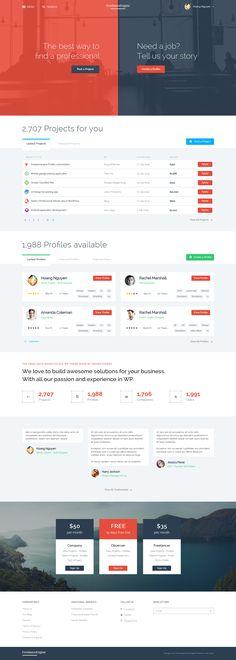 Freelance website (nice design)