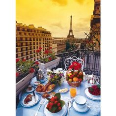 Petit déjeuner à Paris; can this be my life, please!