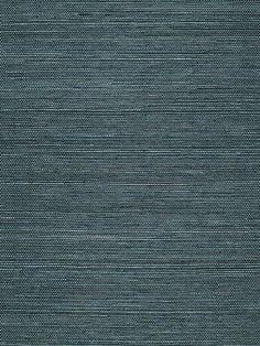 DecoratorsBest - Detail1 - Sch 5004712 - Haruki Sisal - Peacock - Wallpaper - DecoratorsBest