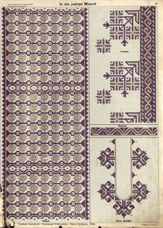 Folk Embroidery, Embroidery Patterns, Machine Embroidery, Antique Quilts, Diy And Crafts, Cross Stitch, Crafty, Album, Costume