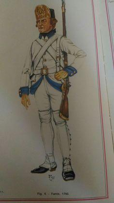 Venise - infanterie 1793
