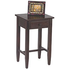 Office Star Espresso Telephone Stand - Overstock™ Shopping - Great Deals on Office Star Products Coffee, Sofa & End Tables