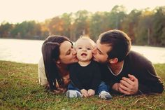 christmas card idea...kiss from mom and dad by Jennifer Blake, via 500px