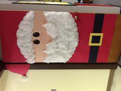 Santa door