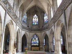 The Saint-Jean Church in Caen