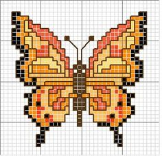 Butterfly Cross Stitch, Butterfly Embroidery, Beaded Cross Stitch, Butterfly Pattern, Cross Stitch Embroidery, Embroidery Patterns, Cross Stitch Patterns, Cross Stitch Boards, Cross Stitch Animals