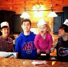 Their family is legit perfect... Then there's cam. But he's perf too<3