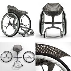 The Worlds First 3D-printed Wheelchair - Up until now the problem with… Maybe something for 3D Printer Chat
