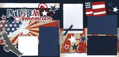 Proud To Be An American Page Kit