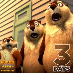 'The Nut Job' Official Teaser Trailer with Will Arnett and Brendan Fraser New Trailers, Movie Trailers, Maya Rudolph, The Nut Job, Computer Generated Imagery, Dragon Princess, Will Arnett, Roller Coaster Ride, Get Tickets