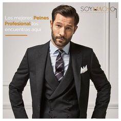 Los peines te pueden ayudar a tener un peinado mucho más definido.  Entra a ----> www.SoyMacho.com #SoyMacho #soymachomexico #mengrooming #mensaccesories #fashion #mensstyle #instafashion #menswear #barba #beard #beards #bearded #beardlife #beardgang #beardporn #beardedmen #instabeard #grooming #mensgrooming #malegrooming #mexicocity #insta #photooftheday #hypebeast #hsdailyfeature #theoutbound  #huffpostgram  #socality  #wonderful_places #igmasters