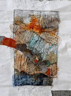Etching 1 by Shelley Rhodes