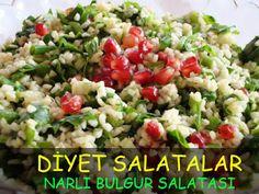 diyet salatalar narlı bulgur salatası