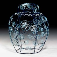 Blue Ginger Jar by Cathy Miles