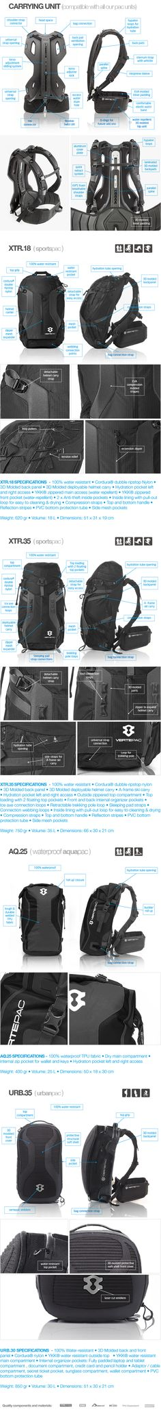 VERTEPAC: World's First Backpack With Its Own Spine. by VERTEPAC — Kickstarter