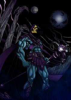 Skeletor - MOTU - Dwayne Biddix