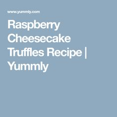 Raspberry Cheesecake Truffles Recipe | Yummly Cheesecake Truffles Recipe, Raspberry Cheesecake Cookies, Truffle Recipe, Cheesecake Brownies, Cheesecake Desserts, Brownie Recipes, Dessert Recipes, Freeze Dried Raspberries, Cream Cheese Cookies