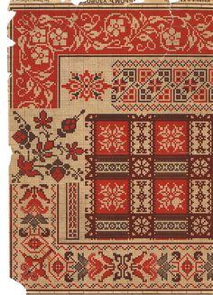 Cross Stitch Borders, Cross Stitch Charts, Cross Stitch Designs, Cross Stitching, Cross Stitch Patterns, Embroidery Sampler, Cross Stitch Embroidery, Embroidery Patterns, Lace Painting