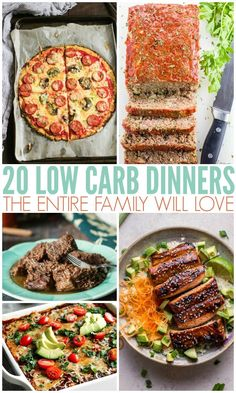 20 Low-Carb Dinners
