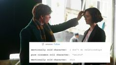 Tina and Newt *text also applies to Sherlolly