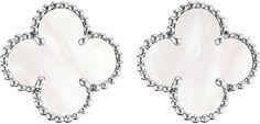 Van Cleef & Arpels Van Cleef & Arpels Vintage Alhambra Gold and Mother-of-Pearl Earrings
