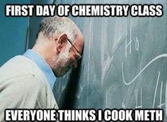 Oh the pains of Chemistry teachers throughout America after BrBa...