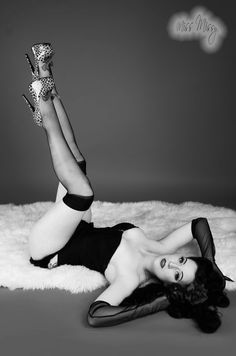 pin up style. love it!