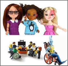 A boa notícia vem diretamente da BBC Brasil de Londres. A Playmobil, gigante da indústria de brinquedos, promoverá uma linha de brinquedos que apresentam personagens com deficiências. Confira a matéria e entenda.