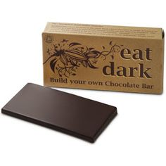 For my sister-in-law, who is allergic to refined sugar...this organic DIY chocolate kit might be a nifty idea!