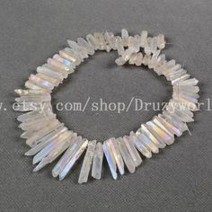 Silver Mystic Coated Titanium Quartz Glass Round Ball Beads 9mm to 10mm