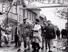 The Liberation Of Auschwitz 1945. Photograph by Boris Ignatovich.