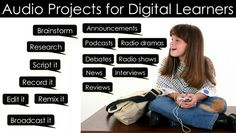 #Teaching with Technology, Audio Projects for Digital Learners