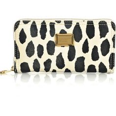 Marc By Marc Jacobs Large Zip Around Pvc Wallet ❤ liked on Polyvore featuring bags, wallets, clutches, purses, accessories, women, zipper bag, zipper wallet, marc by marc jacobs and zip-around wallet