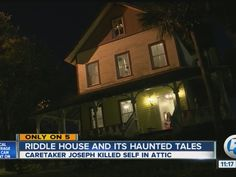In the middle of Yesteryear Village at the South Florida Fairgrounds rests the Riddle House, a not so ordinary 3-story home.