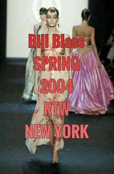 BILL BLASS □□□ SPRING □□□ 2004 □□□ RTW □□□ NEW YORK