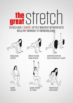 The Great Stretch Workout | Posted by: CustomWeightLossProgram.com