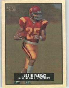 Justin Fargas - USC - Oakland Raiders - 2009 Topps Magic NFL Trading Card by Topps. $1.89. Justin Fargas - USC - Oakland Raiders - 2009 Topps Magic NFL Trading Card