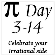 For the math nerd in us all!  Happy Pi Day