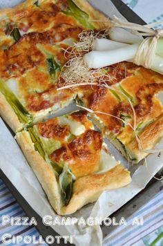 Pizza Campagnola Ai Cipollotti