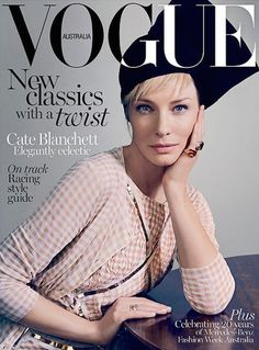 COVER: Cate Blanchett geen enge stiefmoeder voor Vogue | I LOVE FASHION NEWS
