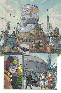 Judge Dredd: Mega City Two, IDW